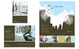 Urban Real Estate - Flyer & Ad Template Design Sample