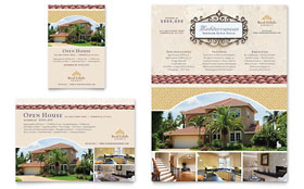 Luxury Real Estate - Flyer & Ad Template Design Sample