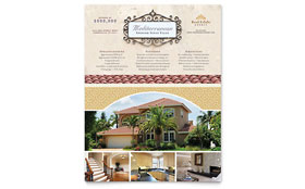 Luxury Real Estate - Flyer Template