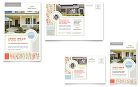 Real Estate Home for Sale - Postcard Template