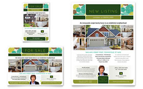 Real Estate - Flyer & Ad Template Design Sample