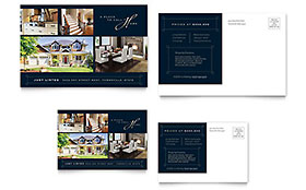 Luxury Home Real Estate - Postcard Template