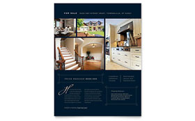 Luxury Home Real Estate - Flyer