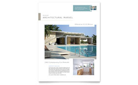 Modern Real Estate - Flyer Template Design Sample