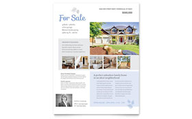 Real Estate Listing - Flyer Template