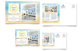 Beach House - Postcard Template