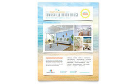 Beach House - Flyer Template