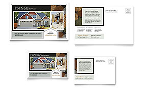 Suburban Real Estate - Postcard Sample Template