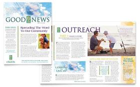 Christian Church - Newsletter Template