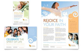 Christian Church - Flyer & Ad Template