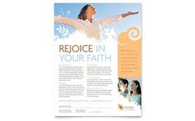 Christian Church - Flyer Template