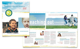 Special Education - Brochure Template Design Sample