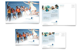 Christian Ministry - Postcard Template