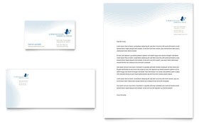 Christian Ministry - Business Card & Letterhead Template