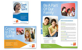 Church Youth Ministry - Flyer & Ad Template