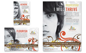 Church Youth Group - Flyer Template