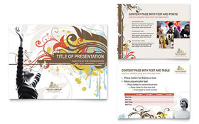 Church Youth Group - PowerPoint Presentation Sample Template