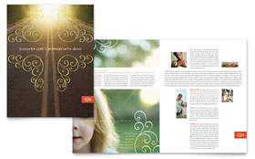 Christian Church Religious - Brochure Template