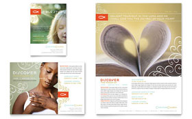 Christian Church - Print Ad Template Design Sample