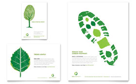 Environmental Non Profit - Flyer & Ad Template