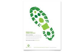 Environmental Non Profit - Flyer Template