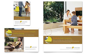 Furniture Store - Leaflet Template