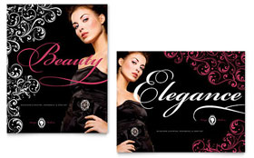 Formal Fashions & Jewelry Boutique - Poster Sample Template