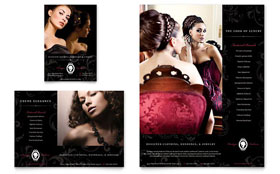 Formal Fashions & Jewelry Boutique - Flyer & Ad Template
