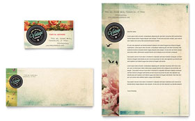 Vintage Clothing - Business Card Sample Template