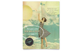 Vintage Clothing - Flyer Template