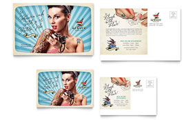 Body Art & Tattoo Artist - Postcard