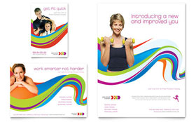 Personal Trainer - Flyer & Ad