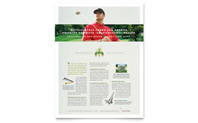 Golf Course & Instruction - Flyer