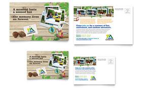 Kids Summer Camp - Postcard Template
