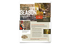 Hunting Guide - Flyer Template