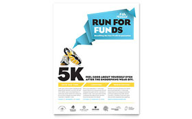 Charity Run - Flyer Template