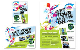 Youth Soccer - Flyer Template