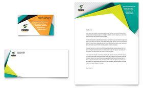 Fitness Trainer - Business Card & Letterhead