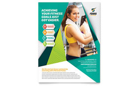 Fitness Trainer - Flyer