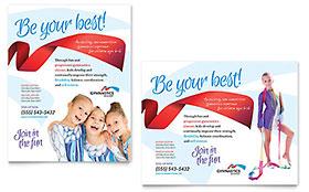 Gymnastics Academy - Poster Template