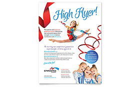 Gymnastics Academy - Flyer Template