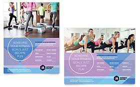 Aerobics Center - Poster Template