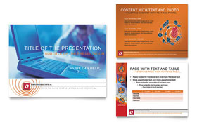 Computer Consulting - Microsoft PowerPoint Template