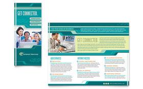 Internet Service Provider - Brochure Template