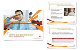 Software Developer - PowerPoint Presentation Template Design Sample