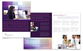 Information Technology Consultants - Microsoft Word Brochure Template