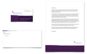 Information Technology Consultants - Business Card & Letterhead Template