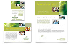 Internet Marketing - Flyer & Ad Template