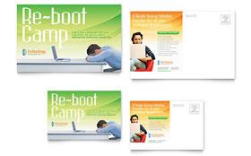Computer & IT Services - Postcard Template