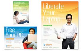 Computer & IT Services - Leaflet Template